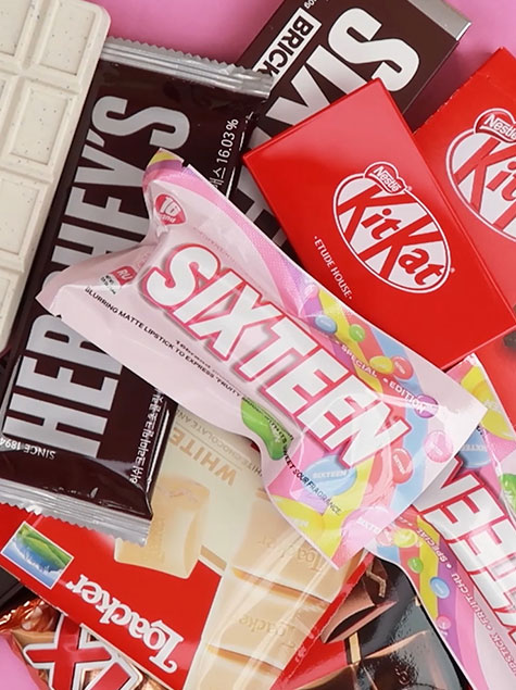 발렌타인 필수템! 초콜렛인 줄 알았지?