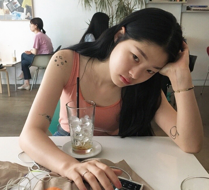 모델 김아현은 타투 광?!