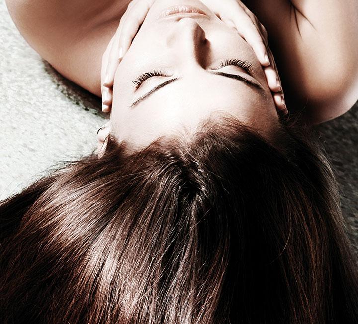 두피 통증녀, 머리카락 사수하기