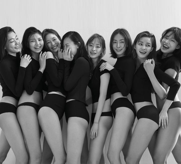 8명의 모델이 이야기하는 아름다운 몸 이야기