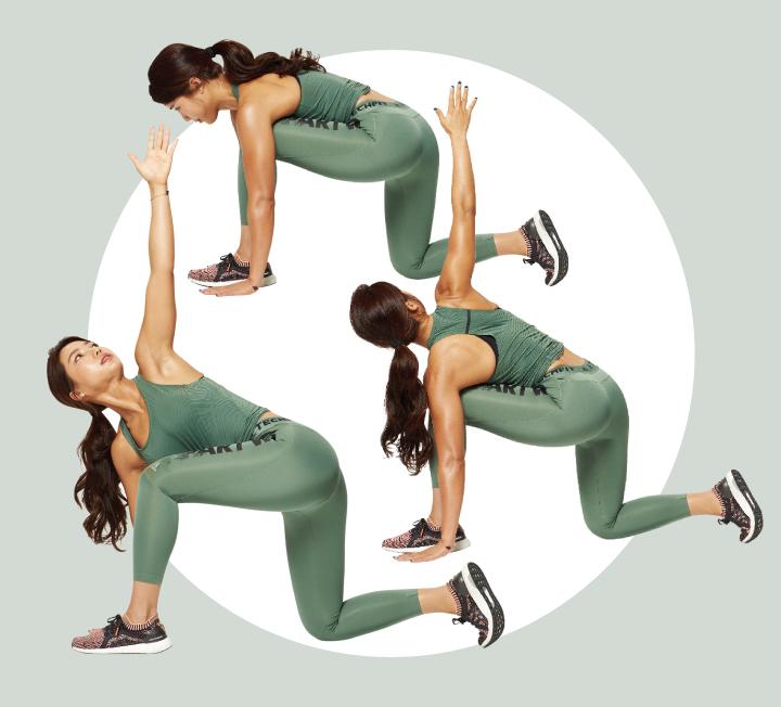 언제 어디서나 할 수 있는 6가지 운동 동작