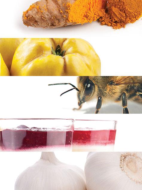 감기를 완화하는 천연 식품 5