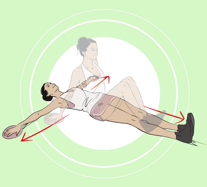 미끌미끌 글라이더로 운동 효과 200%!