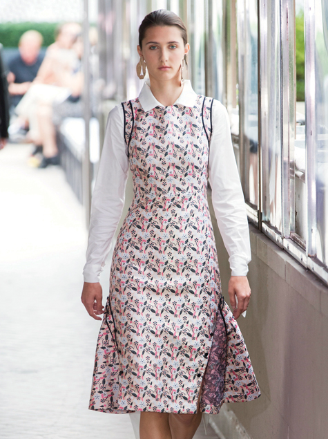 출근룩 필템 7탄 : 플라워 드레스