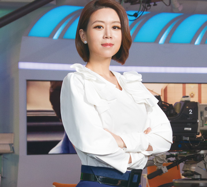 뉴스 읽어주는 여자 : MBC 손정은 아나운서