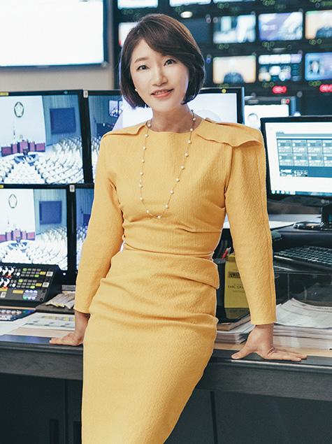 뉴스 읽어주는 여자: JTBC 신예리
