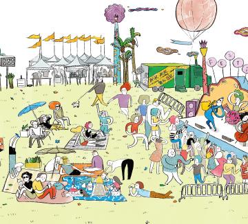 바야흐로 축제의 계절! Festival Adventure #1
