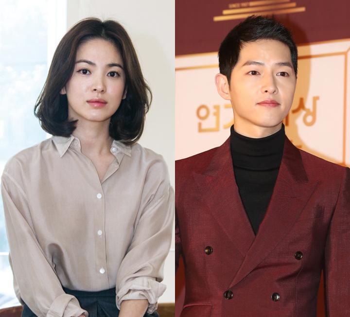 송혜교, 송중기 커플의 관상으로 본 궁합은?