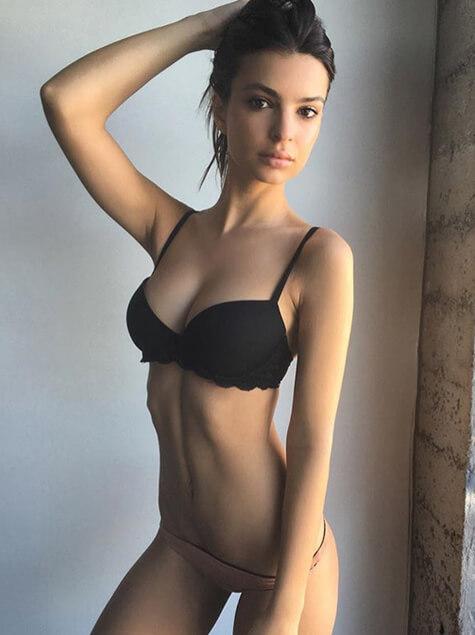 워너비 몸매로 화제가 된 모델