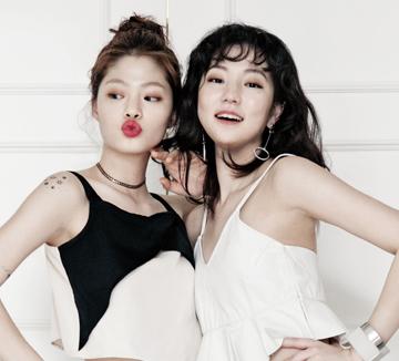 절친 모델 김아현과 메구의 은밀한 사생활