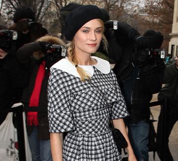 <셀렙 스타일의 비밀> '프린트 입기'의 초짜라면 다이앤 크루거처럼!