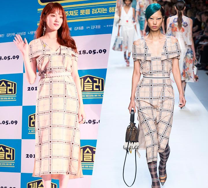 드레스 로망 실현(!)한 스타 룩3