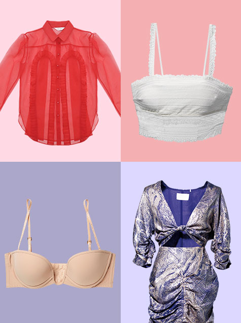 여름 옷과 언더웨어 매칭법 #상의