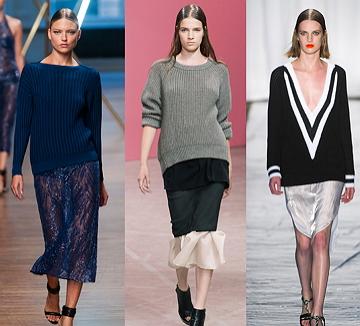 <2014 S/S 트렌드 키워드 25> #2. 스웨터가 섹시하다고?