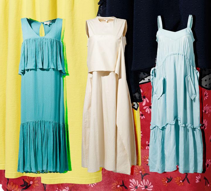 낭창낭창한 러플 드레스
