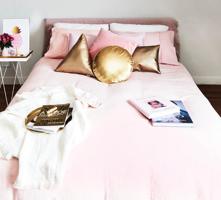 침실에도 봄이 왔다! 4가지 베딩 스타일