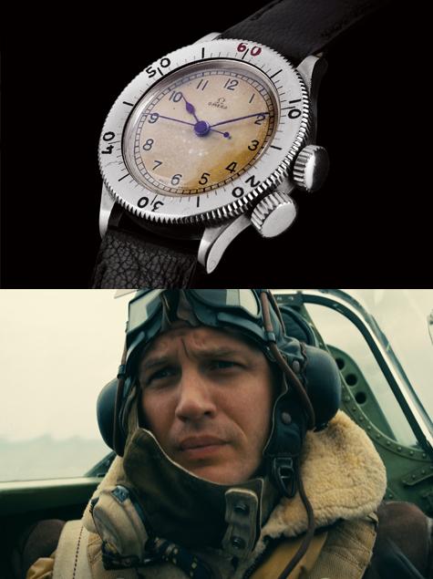 영화 '덩케르크' 속 톰 하디의 시계