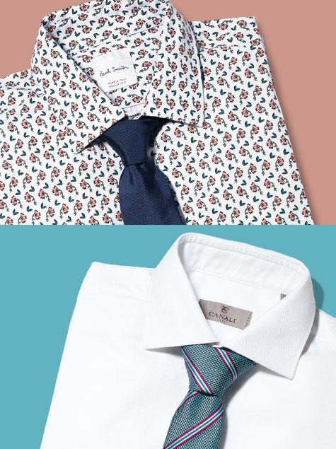 셔츠와 타이, 꿀 조합은 따로있다?