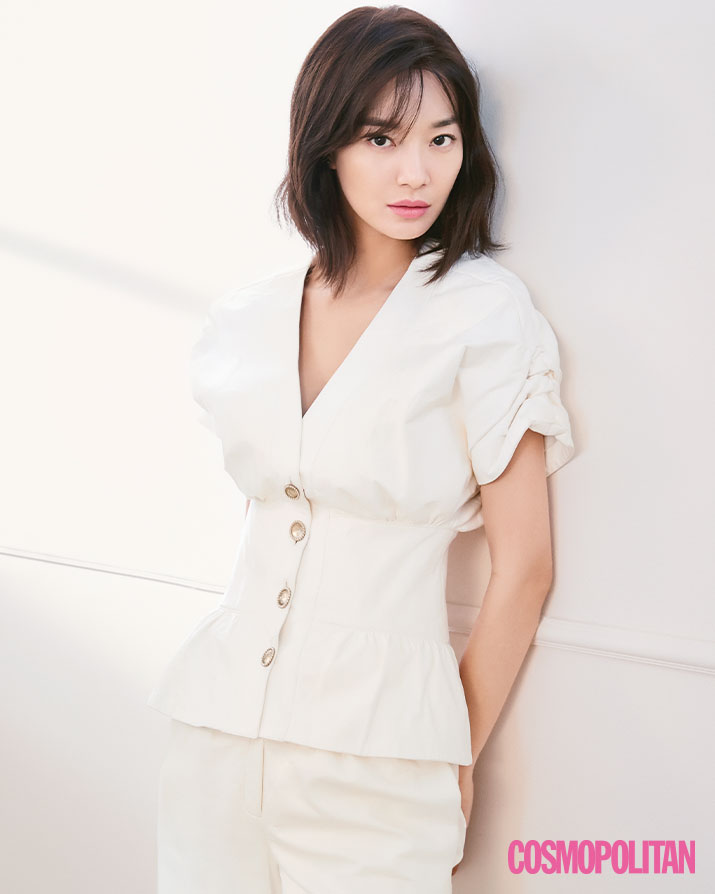 Interview Actress Shin Min Ah for Cosmopolitan Magazine May Issue