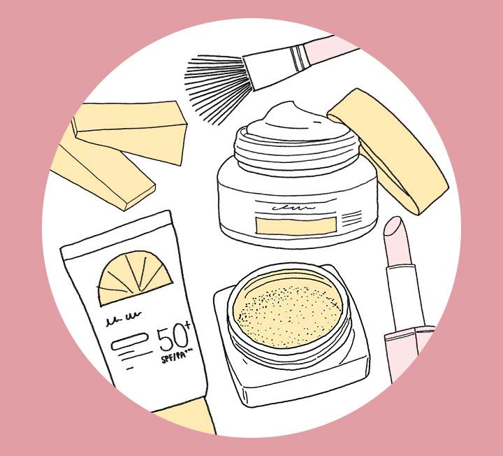 따뜻해지는 날씨에 다이어트를 결심한 당신! 건강을 위해 몸뿐 아니라 화장대 다이어트에도 돌입하자. 화장대 위는 물론 서랍 속 먼지 쌓인 제품을 코스모가 일목요연하게 알려주는 유통기한 가이드에 따라 정리하면 끝!