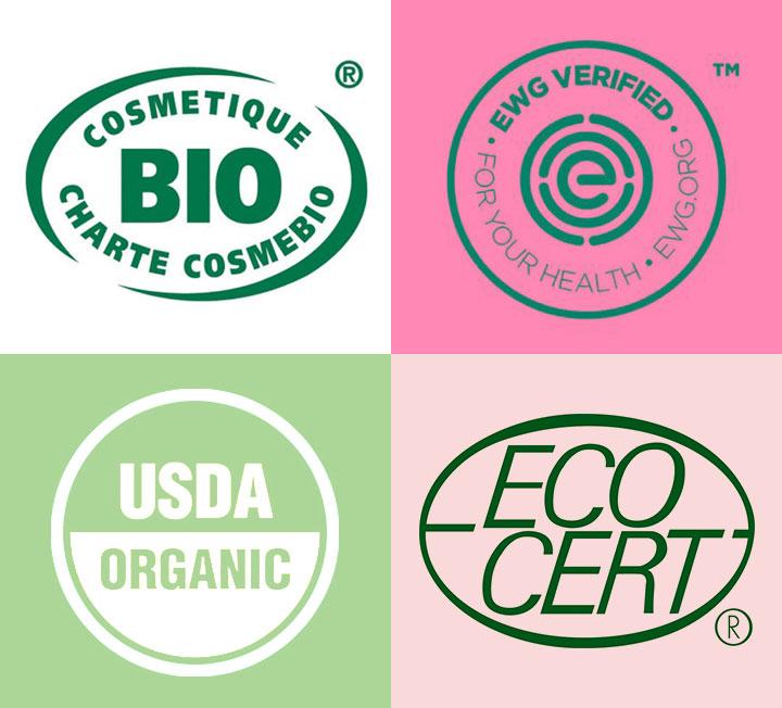 인체에 안전한 성분, 지구를 괴롭히지 않는 성분을 늘 염두에 두고 제품을 고를 수는 없을 것. 그렇다면 다음 인증 마크가 붙어 있는지를 확인해보는 것도 방법!