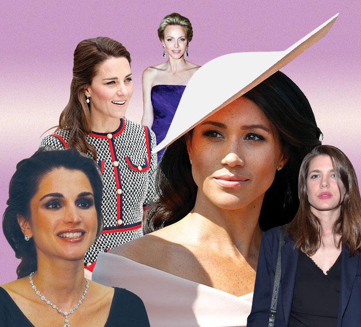 귀족적인 외모와 고운 자태의 로열패밀리! 전 세계 여성들의 워너비 셀렙으로 등극한 왕실 속 그녀들. ::메건마클, 케이트미들턴, 로열패밀리, 왕족, 왕실, 귀족, 셀렙, 뷰티, 코스모폴리탄, COSMOPOLITAN::