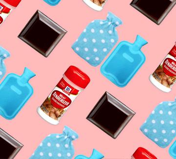 생리로 인한 불상사를 줄이는 13가지 방법. 지금까지 5번을 모르고 살았다니!::그날, 생리, 생리통, 생리대, 핫팩, 몸무게, 청바지, 초콜릿, 수면, 철분, 조깅, 저염, 커피, 코스모폴리탄, COSMOPOLITAN