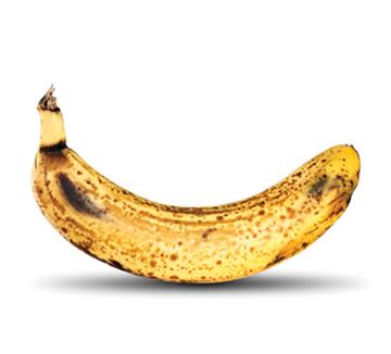검은 바나나 먹을 사람? 바나나의 위력은 껍질에 검은 반점이 40% 정도 퍼진 상태일 때 발휘된다. 몸에 좋고 맛도 좋은 검은 바나나 숙성법!