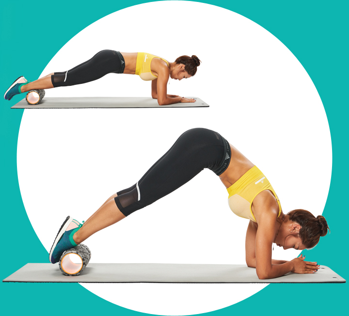가벼운 롤링만으로 찌뿌드드한 상·하체 근육의 긴장을 풀어주고 혈액순환에 도움을 줘 몸이 한결 유연하고 개운해지는 폼 롤러 트레이닝. 린다와 함께하는 이번 트레이닝은 굴릴수록 날씬해지는 폼 롤러 운동법이다. ::보디, 운동, 몸매, 린다, 홈트, 폼롤러, 코어, 허벅지, 하체비만, 엉덩이, 등근육, 코스모폴리탄, COSMOPOLITAN