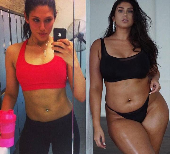 몸매를 숫자로 평가하는 것을 멈추면 행복이 찾아온다. 이를 증명한 7명의 인스타그래머들. ::다이어트, 여성건강, fitness, body, 몸무게, 숫자, 평가, 코스모폴리탄, COSMOPOLITAN