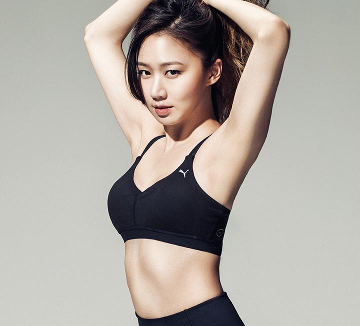 능동적이고 자유롭게 행동하며 몸과 마음을 가꾸는 사람은 아름답다. 다부진 몸매에 유쾌한 성격까지 겸비한 데뷔 5년 차 배우 고성희가 아름다운 이유다.