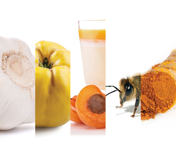 좀처럼 감기가 떨어지지 않는다면 천연 식품의 힘을 빌려보는 건 어떨까?