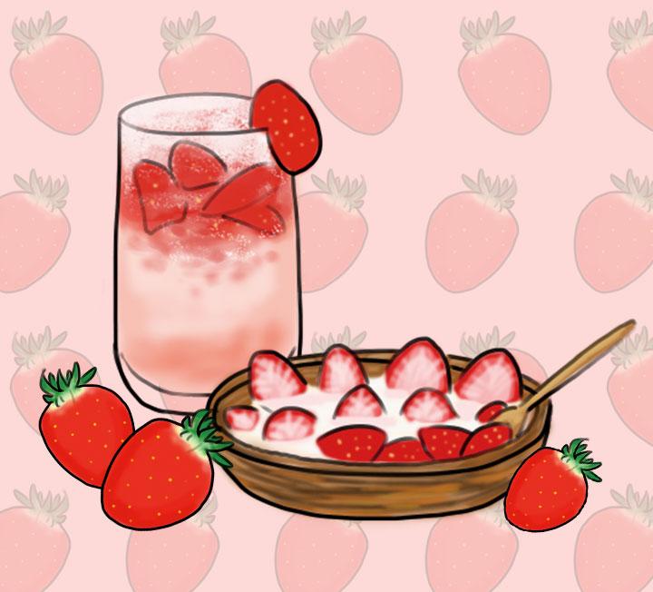 먹으면 먹을수록 건강해지고 육중했던 몸은 깃털처럼 가벼워지는 음식이 끌린다면? 비타민 C가 풍부한 딸기, 포만감을 주면서 부기까지 쏙 빼주는 바나나를 활용해 쉽게 완성하는 뷰티 간식을 소개한다.