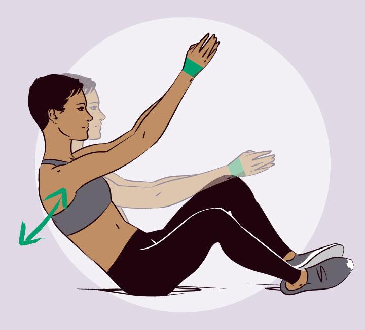 운동 효과가 별로 없을 것 같은 저항 운동도 루프 형태의 도구만 있다면 효과 만점. 작은 사이즈의 트레이닝 도구라 비좁은 공간에서도 얼마든지 운동할 수 있다. ::운동, 워크아웃, 헬스, 다이어트, 루프, 트레이닝, 헬스, 건강, 운동법, 코스모폴리탄, COSMOPOLITAN