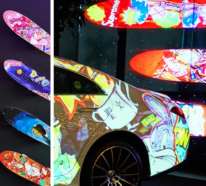 올해로 7회째를 맞는 한성자동차의 '드림그림' 연말전시회가 한성자동차 청담전시장에서 열렸다. 올 한 해에도 드림그림 참여 학생들은 미술에 대한 범위를 넓혀 다양한 감각과 영역을 체험하고, 이를 자유롭게 융합하는 새로운 예술적 경험을 즐길 수 있었다.  ::한성자동차, 드림그림, 벤츠, 전시회, 꿈, 희망, 코스모폴리탄, cosmopolitan