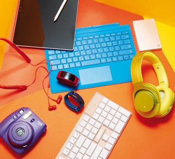 모노톤의 디지털 기기는 이제 안녕! 보기만 해도 안구 정화가 되는 컬러감을 더한 제품이 여기 있다.::디지털, 디지털 기기, 오피스, 노트북, 마우스, 키보드, 아이템, 쇼핑, 코스모폴리탄, COSMOPOLITAN