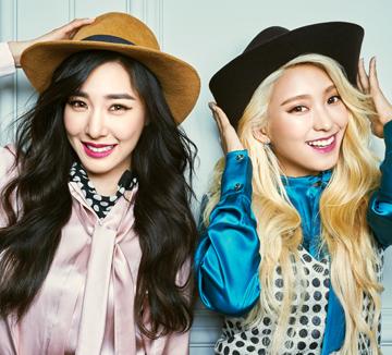 연예계 대표 절친인 소녀시대 티파니와 씨스타 보라가 빡빡한 스케줄 사이에 시간을 내 살롱에서 만났다. 얼굴 되고 몸매 되고 우정도 되는 그녀들의 오프더레코드 스토리.