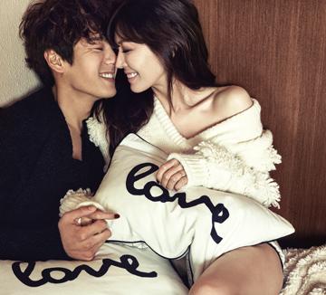 아무도 없는 둘만의 공간. 그곳에서 달콤한 시간을 보내는 김소연과 곽시양의 하루.