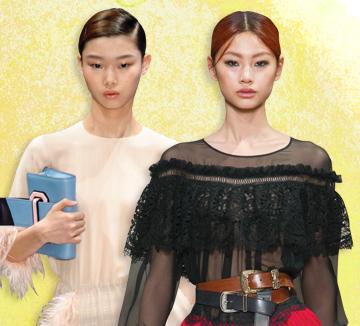 컬렉션 기간 중 해외 프레스들의 주목을 한 몸에 받은 한국 모델이 있으니, 바로 정호연과 배윤영.::런웨이 해외, 정호연, 배윤영, 모델, 디올, 프라다, 루이비통, 마크제이콥스, 셀린느, 브랜드, 패션, 코스모폴리탄, COSMOPOLITAN