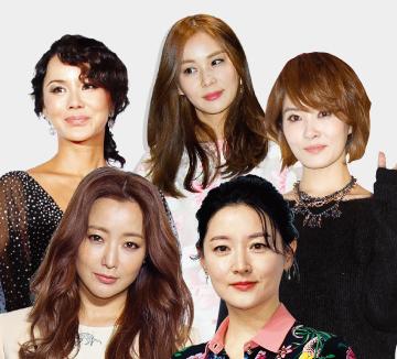 90년대의 핫 아이콘이었던 5명의 여배우가 TV 드라마로 돌아온다. 그녀들의 화려한 과거를 공개하니 이참에 추억팔이 한번 해보는 건 어떨까? 그나저나 이 언니들, 예나 지금이나 '세젤예'네!