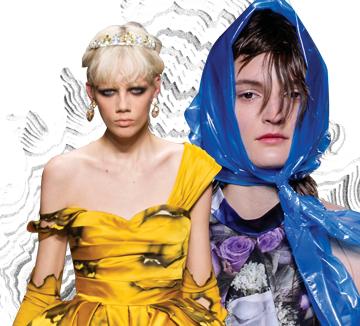 패션 판타지를 위해 존재하는 런웨이 속 미궁의 세계. 이 중 하나만 직접 시도한다면?::패션, 런웨이, 이슈, 트렌드, 트렌드 리포트, 난해, 컬렉션, 알렉산더 맥퀸, 코스모폴리탄, COSMOPOLITAN
