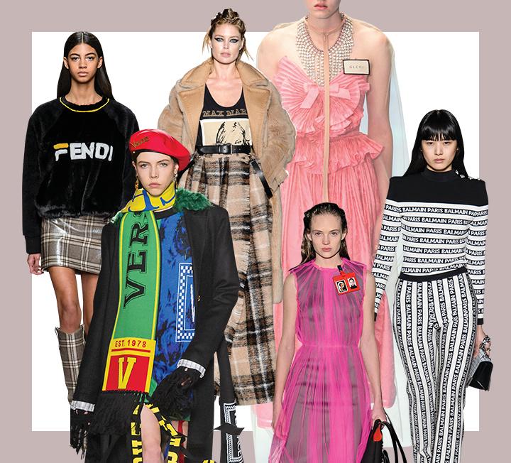 여성의 인권, 성의 다양성을 더 강하게 외치는 요즘, 패션 트렌드는 타인의 시선이 아닌 스스로의 만족을 위해 패션을 즐기라고 권한다. 자신의 취향을 세련되고, 균형 있게 즐길 수 있도록 코스모가 정리했다. 2018 F/W 패션 위크의 트렌드와 핵심 키워드!