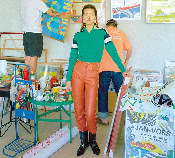 드로잉부터 위빙, 가구 등 자기만의 방식으로 컬러를 조합하는 아티스트 4명의 공간에서 보낸 오후. ::패션, 컬러, 영감, 아티스트, 코스모폴리탄, COSMOPOLITAN::