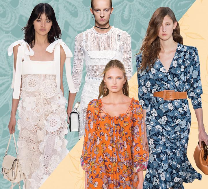 한여름 스타일링 고민을 덜어줄 서머 드레스! 휴양지에서 즐길 법한 화려한 패턴의 드레스부터 사무실에서 입어도 손색없는 단정한 드레스까지. 체온은 내리고 스타일 지수는 높여줄 서머 드레스를 사수하라.