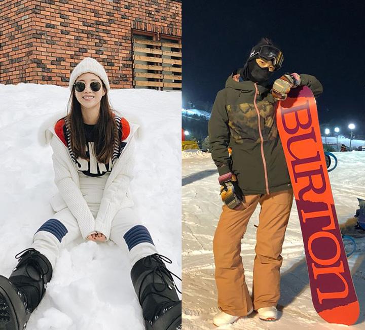 스키와 스노보딩 시즌이 돌아왔다. 스타들에게서 엿보는 스키 룩 베스트!