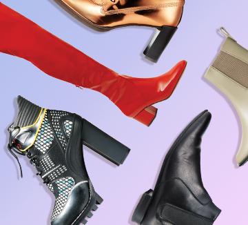 부츠의 계절이 다시 돌아온 지금, 당신에게 필요한 부츠는? 셀렙들의 룩에서 이번 시즌 트렌드와 스타일링 팁을 얻었다. 길이와 스타일을 꼼꼼히 따져 자신에게 맞는 부츠를 찾아볼 것.::패션, 쇼핑, 부츠, 다리, 체형, 스타일, 쇼핑템, 아이템, 슈즈, 신발, 가을, 겨울, 코스모폴리탄, COSMOPOLITAN