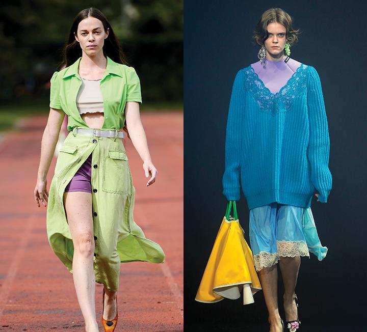 사도 사도 입을 옷이 없다고? 의외의 소재, 컬러 매치만으로도 새로운 스타일을 완성할 수 있다. 2018 S/S 런웨이에서 힌트를 얻어 옷장 속에서 보물을 재발견해볼 것.