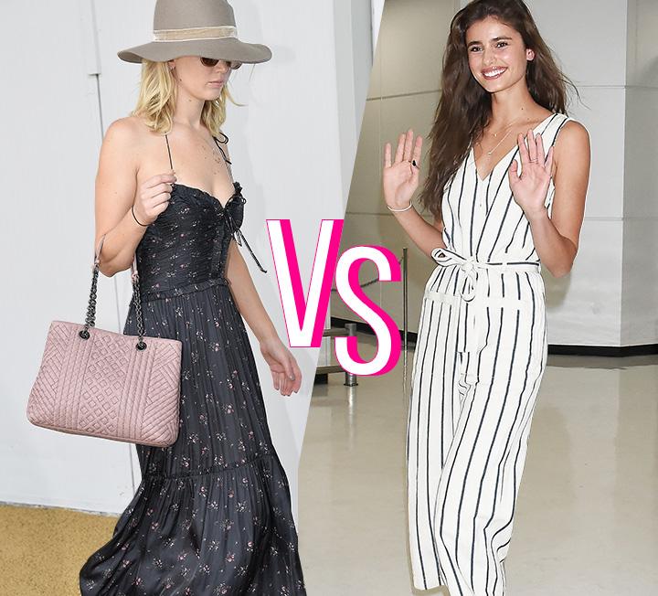 출국을 앞두고 늘 '무엇을 입고 공항에 가야 할까?'라는 고민에 빠진다면, '공항 패션 전문가'라 칭해도 좋을 법한 셀렙들의 룩을 보고 힌트를 얻을 것.
