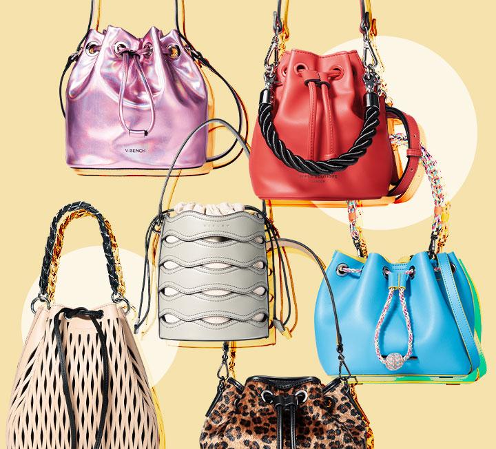 새 계절, 쇼핑에 목마른 당신을 위해 준비했다. 올 봄과 여름, 들고 신으면 좋을 만한 가방과 신발을 모두 모은 대망의 쇼핑 가이드. ::패션, 쇼핑, 데일리룩, 패션아이템, 트렌드, 버킷백, 토트백, 숄더백, 백, 가방, 2019ss, 코스모폴리탄, COSMOPOLITAN