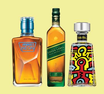 한잔하기 딱 좋은 날씨다. 신상 술이 유독 반가운 것도 그래서다. ::조니워커, 와인, 임페리얼 네온, 롯데와인, 1800, 키스해링, 신상 술, 여름, 한잔, 코스모폴리탄, COSMOPOLITAN